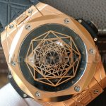 Noob Factory Replica Hublot Big Bang Sang Blue King Gold Review