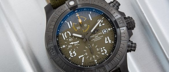 Noob Factory Replica Breitling Avenger Chronograph 45 Night Mission Watch Review
