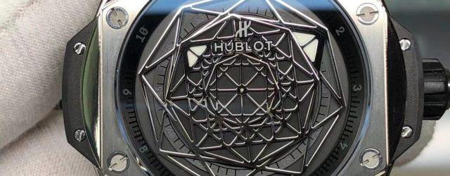 Noob Factory Replica Hublot Big Bang Sang Bleu Titanium Review
