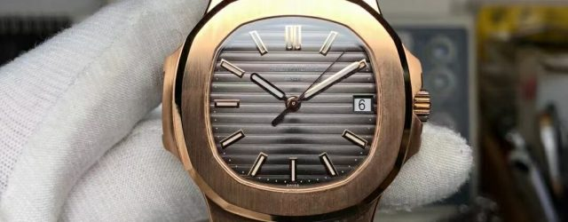 Noob Factory Replica Patek Philippe Nautilus Rose Gold 5711/1R-001