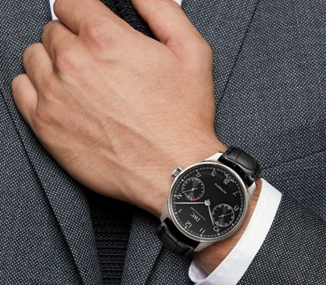 Noob Factory Replica IWC Portugieser 7 Day Power Reserve Black Dial Watch Review